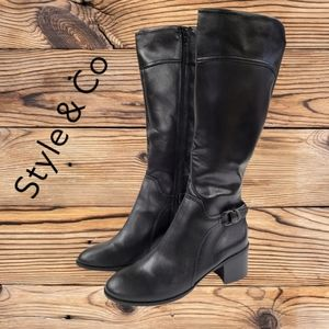 NWOT Style & Co over the calf